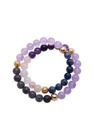 Women's New Arrivals Coral Blue, Jade, Amethyst, Bracelets, Jewelry, Fashion, Moda, Jewlery, Jewerly