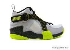 release date: 8943f cfd71 Nike men Air Raid Basketball shoes size 11.5 - Wolf Grey  Venom Green Nike