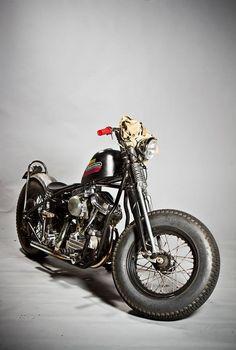 Panhead. Bobber. Harley Davidson.