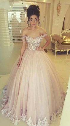 Off the Shoulder Tulle Birthday Dresses Quinceanera Gowns with Appliques Related posts:Gorgeous Royal Blue Jewel Sleeveless Beadings Quinceanera Dresses Sweet Sixteen Dresses, Sweet 16 Dresses, Sweet Dress, Pretty Dresses, Beautiful Dresses, 15 Dresses Pink, Casual Dresses, Summer Dresses, Tulle Prom Dress