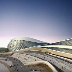 Chengdu Contemporary Art Centre - Zaha Hadid Architects