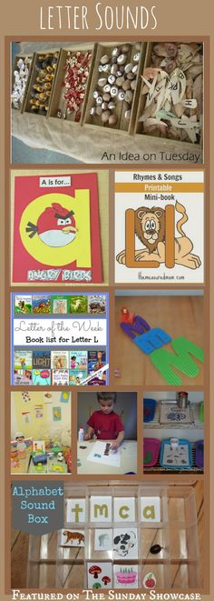 Some brilliant ideas here for helping kids to learn their letter sounds. Learning can be fun!