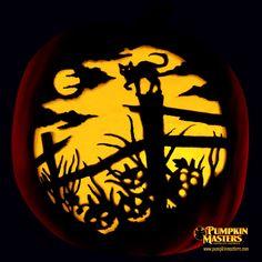 Haunted Fence Row pumpkin
