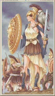Athena Greek Goddess | Myth Man's Athena Page Five