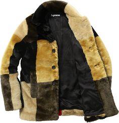Supreme Faux Fur Coat