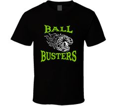 Get this Black Ball Busters Flaming Baseball Sports Fan T Shirt today which is available on a Cotton shirt. This shirt will make a great gift and be talked about for some time. Sports Baseball, Shirt Style, Fan, Mens Tops, T Shirt, Supreme T Shirt, Tee, Fans, Tee Shirt
