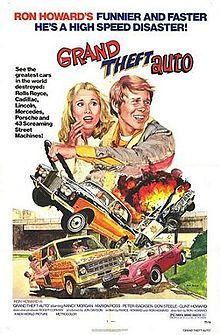 Grand Theft Auto is a 1977 American comedy road movie directed by Ron Howard. It was Howard's feature film directorial debut and features hi...