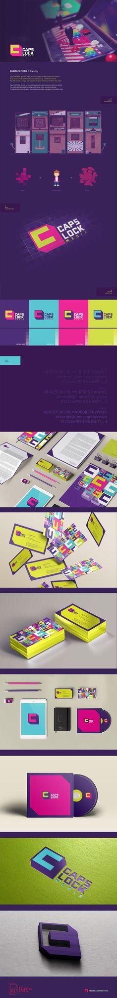 Branding and Visual Identity for Caps Lock | B21 Branding Studio