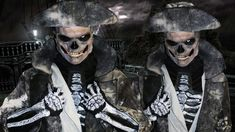 Ghost Pirate - Zombie/ Skeleton - Makeup Tutorial!