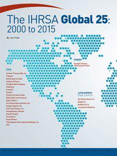IHRSA reports on the top club companies worldwide