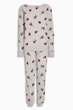 Acheter Gris Noël de chien Pyjamas de la boutique en ligne Next Royaume-Uni