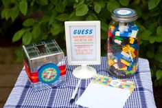 Twins' Lego Themed Birthday Party