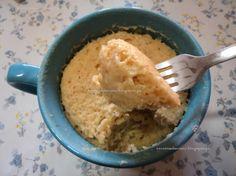 Receitas da Romy: Bolo de caneca, sem glutén e sem açúcar