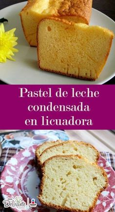 A new cake recipe that you can use to expand your homemade cake recipe book. Ideal for breakfast and snacks.Condensed milk cake in a blenderRecipe for condensed milk cake in the Vanilla Recipes, Sweet Recipes, Food Cakes, Cupcake Cakes, Mexican Food Recipes, Dessert Recipes, Condensed Milk Cake, Delicious Desserts, Yummy Food