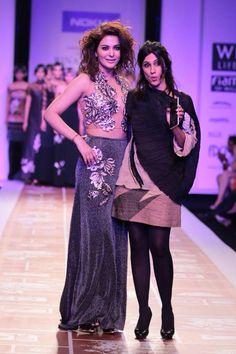 A estilista Rina Dhaka encerrou o primeiro dia em grande estilo!
