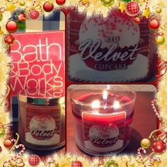 The Shaggy Palm Tree: Holiday candle 2013 Bath Body Works red velvet cupcake