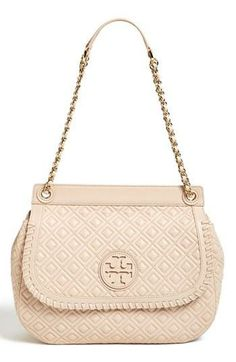 Pretty little quilted convertible shoulder bag