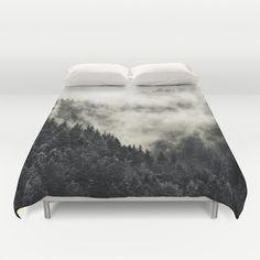 In My Other World - Old School Retro Edit Duvet Cover by Tordis Kayma