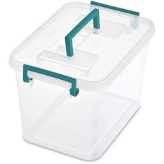 Sterilite Wheeled Laundry Hamper White Available In Case