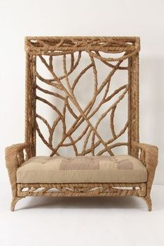 Manzanita Bench under 3,000 at Anthropologie.  Ok, that is expensive, but might be worth saving up for!!!!