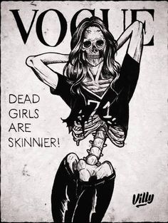 scary Illustration death Black and White creepy vogue horror dark monochrome skull skeleton bones eating disorders Macabre grotesque obscure Plakat Design, Psy Art, Skull And Bones, Vanitas, Skull Art, Art Plastique, Caricatures, Dark Art, Art Inspo