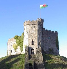 Cardiff Castle absolutely awesome enclosed in a fortress surrounding part of the city Wales Uk, South Wales, Cities In Wales, Cardiff City, Cardiff Wales, Castle Wall, Cymru, England And Scotland, Beautiful Castles