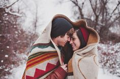 Winter Snow Engagement – Suzy   Esteban