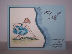 Collecting Seashells by PSU Princess - Cards and Paper Crafts at Splitcoaststampers