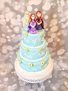 Frozen Fever Princess Cake, by Amy Hart