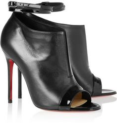 Christian Louboutin Diptic 100 leather ankle boots on shopstyle.com
