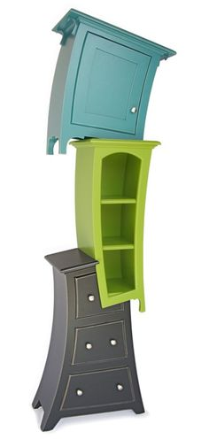 Great furniture for a Dr. Seuss room! This is the coolest thing ever i whan this so bad now!!!!!!!!! <3 I'm in love!<3