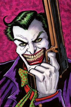 The Joker by Dave Grote Jr