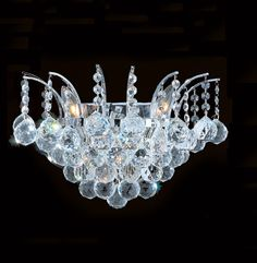 Buy the Worldwide Lighting Chrome Direct. Shop for the Worldwide Lighting Chrome Empire 3 Light Wall Sconce in Chrome with Clear Crystals and save. Candle Wall Sconces, Wall Sconce Lighting, Chandelier Lighting, Chandeliers, Crystal Wall, Clear Crystal, Art Deco, Lighting Sale, Lighting Ideas