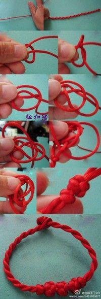 Chinese knots bracelet