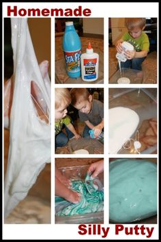 Silly putty recipe