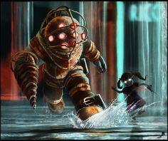 Bioshock - Big Daddy/Little Sister