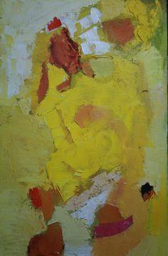 Abstractos Amarillos Oil on Canvas 80x 120 cm. 2010 - sold -