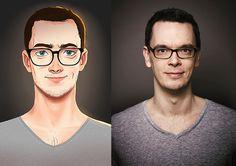 Portraits on Behance