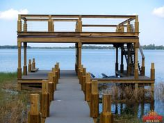 sun deck (for by the pool! Lake Dock, Lake Beach, Boat Dock, Dock House, Boat Slip, Cool Boats, Lakefront Homes, Lake Cabins, Swimming Pools Backyard