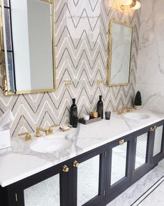 """204 Likes, 10 Comments - Hannah Hagler (@hannahhagler) on Instagram: """"Dream bathroom at @wtrwrks 😍 getting so much inspiration at @lcdqla design conference this week!…"""""""