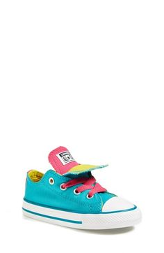 Free shipping and returns on Converse Chuck Taylor® All Star® 'Double Tongue' Sneaker (Baby, Walker, Toddler, Little Kid & Big Kid) at Nordstrom.com. A double contrast tongue provides versatile styling options on a hip canvas sneaker with an iconic silhouette.