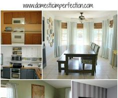 The Official Domestic Imperfection House Tour! (And A Link Party)