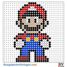 Super Mario buegelperlen vorlagen web