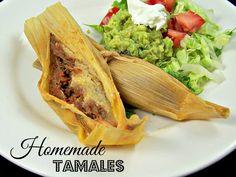 Olla-Podrida: Homemade Tamales