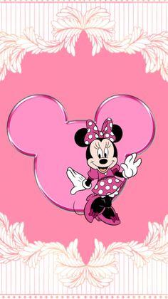 *✿**✿*W.PHONE*✿**✿* Cartoon Wallpaper, Mickey Mouse Wallpaper, Cute Disney Wallpaper, Minnie Mouse Images, Mickey Mouse And Friends, Disney Images, Disney Pictures, Disney Mickey, Disney Art
