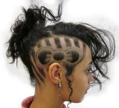 Shaved Hair Designs for Women, Have you seen the latest trend of undercut hair designs for women? For ladies who like bringing something new and different hair ideas to the table, . Undercut Hairstyles, Cool Hairstyles, Shaved Hairstyles, Hair Tattoo Designs, Undercut Hair Designs, Undercut Styles, Shaved Hair Designs, Haircut Designs, Hair Tattoos