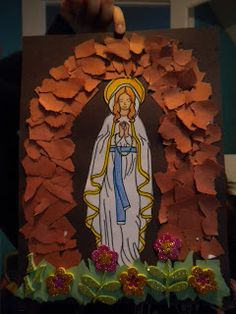 Our Lady of Lourdes {Lots of Crafts and Activities} ~ Catholic Inspired
