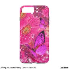 pretty pink butterfly