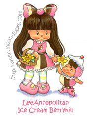 LeeAnnapolitan Ice Cream Berrykin custom creation