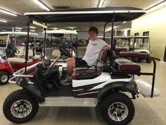Custom Golf Cart Carolina Gamecocks